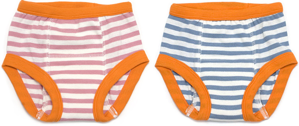 Organic Cotton Striped Toddler Training Pants
