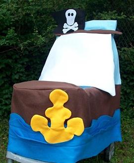 Pirate Ship Stroller Costume