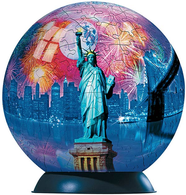 Ravensburger New York City - 240 Piece Puzzleball