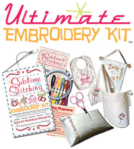 Sublime Stitching Ultimate Embroidery Kit