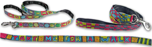 Bow Wow Meow Design Your Own Leash