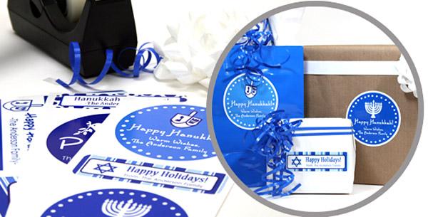 Hanukkah Gift Wrap Pack