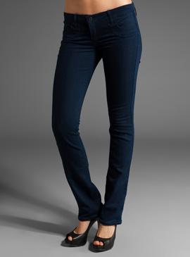 BLEULAB Reversible Five Pocket Straight Jeans