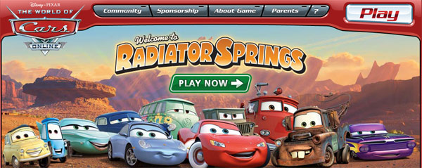 Disney World of Cars Online