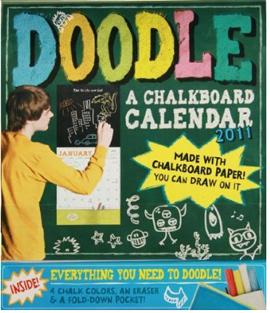 Doodle: A Chalkboard Calendar 2011