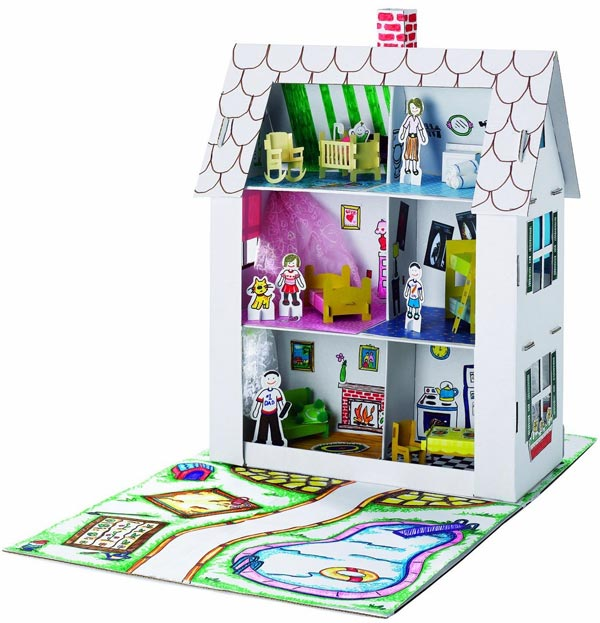 Faber Castell Cardboard Doll House