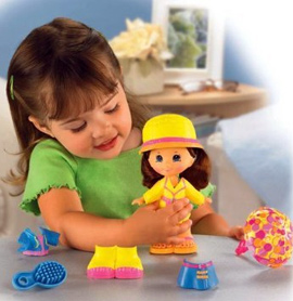 Fisher-Price Snap 'n Style Grace Doll