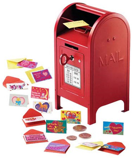 Itsy-Bitsy Valentines and Miniature Mailbox Bank