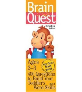 My First Brain Quest Ages 2 to 3 - 3rd Edition