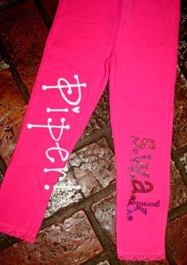 Piper SWAK bling leggings