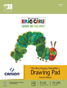 The Very Hungry Caterpillar Drawing Pad
