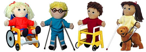 Roundup of Dolls with Disabilities