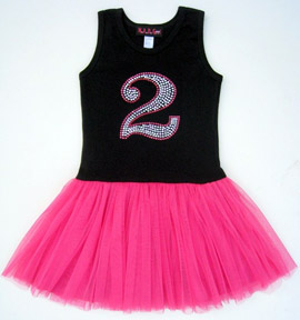 Blingalicious Birthday Princess Tutu Dress