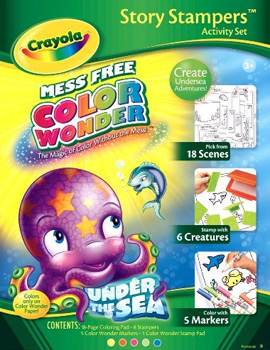 Crayola Color Wonder Stamp A Story