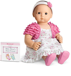 American Girl Pink Blossoms Outfit for Dolls + Book