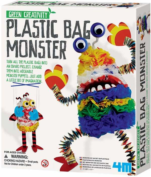 Toysmith Plastic Bag Monster Kit