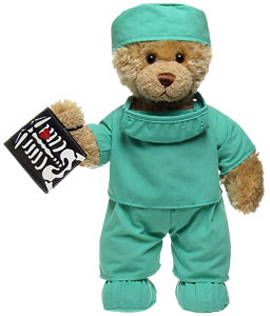 Doctor Curly Teddy