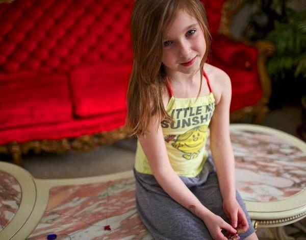 Little Miss Sunshine Halter Dress