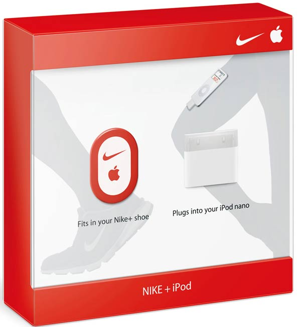 Apple Nike + iPod Wireless in-Shoe Sensor