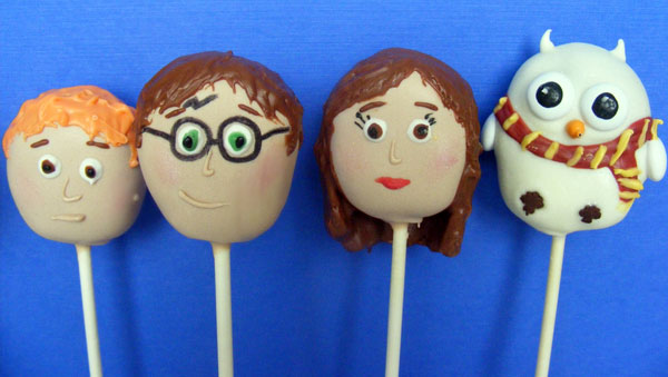 Harry Potter Inspired Cake Pops