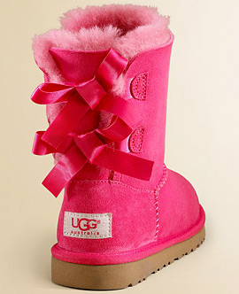 UGG Australia Toddler's & Little Girl's Bailey Bow Boots