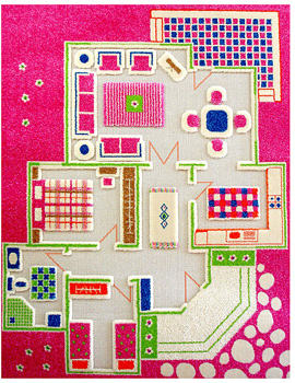 Play House Pink Rug