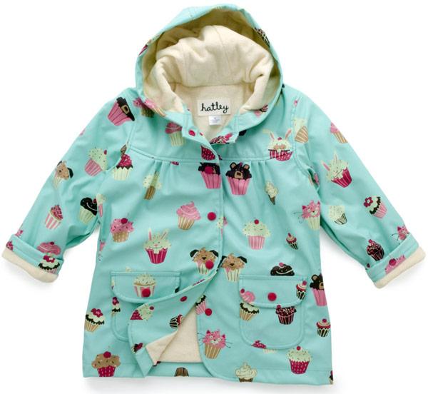 Cupcakes Raincoat