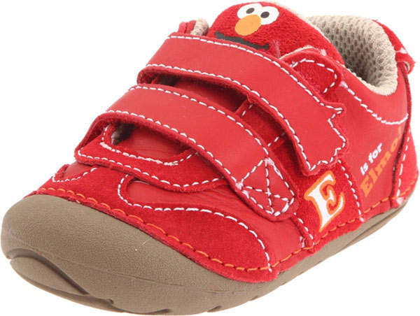 Stride Rite SRT SM Elmo First Walker Shoes