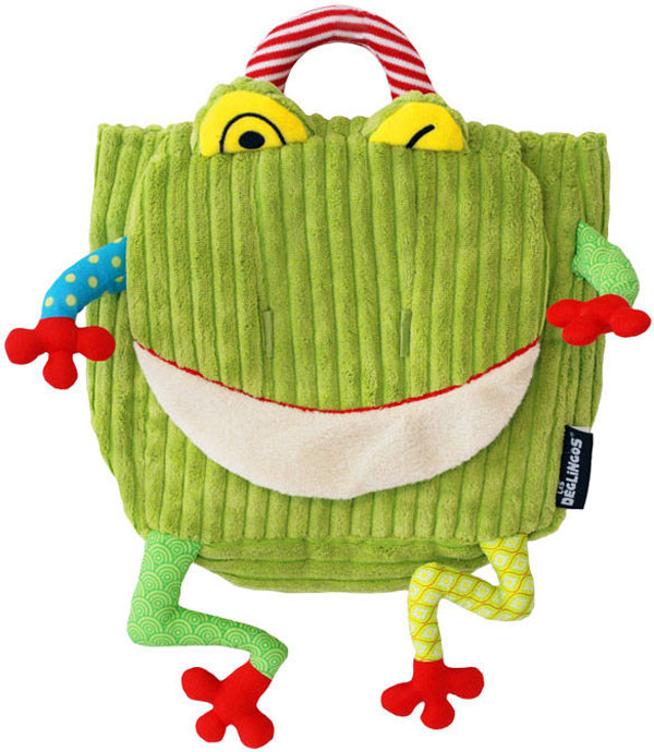 Deglingos Croakos the Frog Backpack