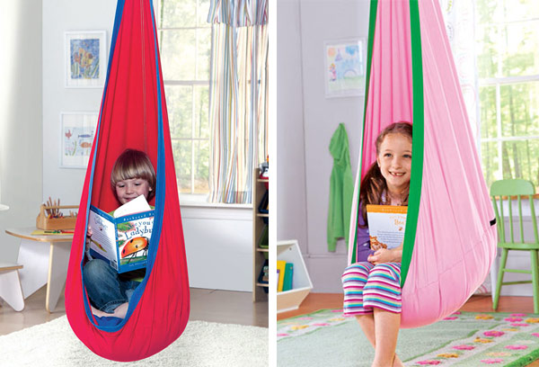 Exceptionnel HugglePod Indoor/Outdoor Canvas Hanging Chair
