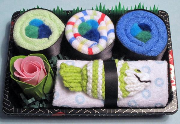 Baby Boy Sushi Gift Set