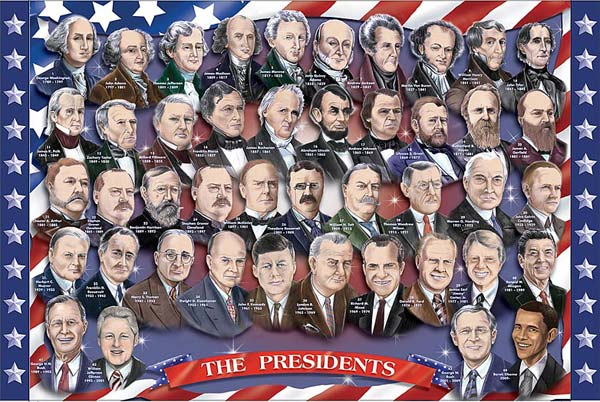 Melissa and Doug 100-Piece American Presidents Floor Puzzle