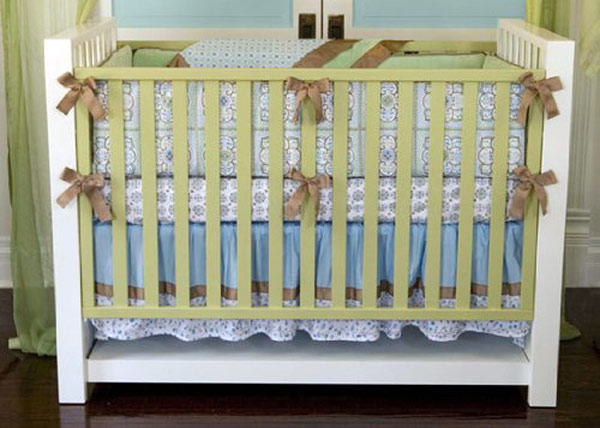 Caden Lane Modern-Vintage Collection Ryan Crib Set