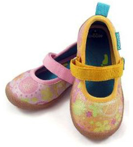 Chooze Dance in Spring Peace Fabric Shoes
